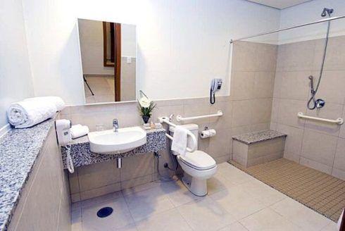 banheiro para cadeirante 3 490x328 BANHEIRO SIMPLES acabamentos que deixam o banheiro moderno