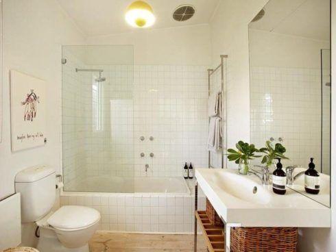 banheiro simples com banheira 2 490x368 BANHEIRO SIMPLES acabamentos que deixam o banheiro moderno