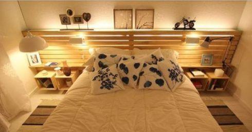cabeceira de cama de pallets 2 490x258 CABECEIRA DE CAMA diversos modelos para escolher