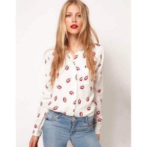 camisa de botao feminina 3 490x490 Modelos de BLUSAS femininas que estão na moda
