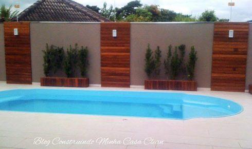 Deck de madeira para utilizar em diversos ambientes wiki for Luminarias para piscinas