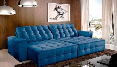 imagem 3 16 490x280 Sala Com SOFÁ AZUL veja os modelos e como decorar o ambiente
