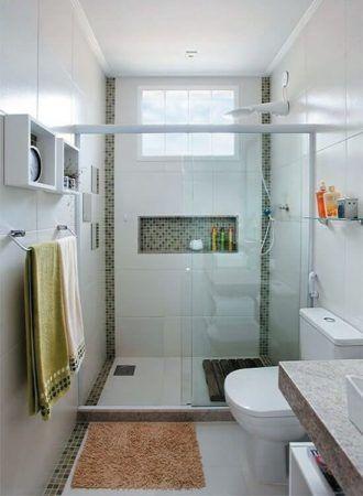 BANHEIRO SIMPLES acabamentos que deixam o banheiro moderno