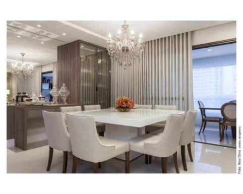 lustre mesa de jantar 490x391 Tipos de Iluminação e LUMINÁRIAS para sala e para casa