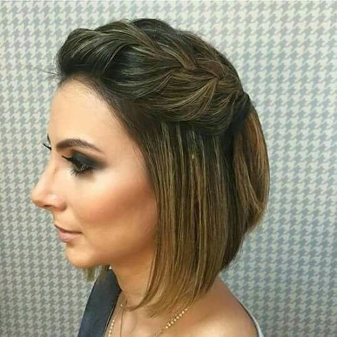 penteados para cabelo curto 1 490x490 PENTEADOS para ano novo veja como fazer