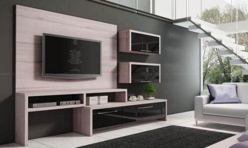 rack de tv com nichos 1 490x294 RACK PARA TV modelos para sala de estar, confira
