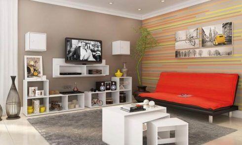 rack de tv com nichos 2 490x294 RACK PARA TV modelos para sala de estar, confira
