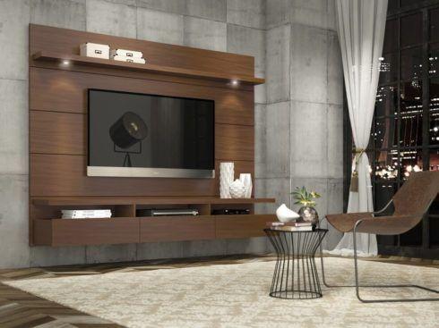 rack de tv suspenso 2 490x367 RACK PARA TV modelos para sala de estar, confira