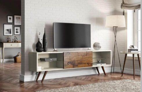 rack retro 2 490x318 RACK PARA TV modelos para sala de estar, confira