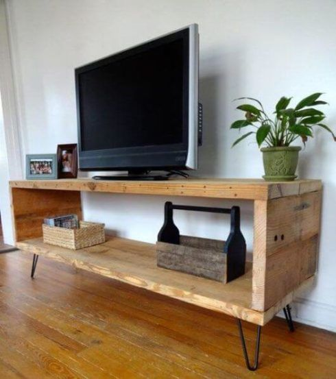 rack rustico para sala 2 490x553 RACK PARA TV modelos para sala de estar, confira