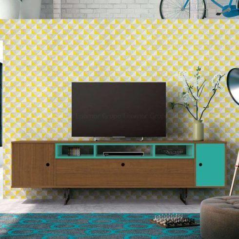 rack vintage 3 490x490 RACK PARA TV modelos para sala de estar, confira
