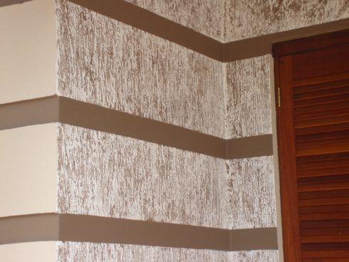 textura de parede rustica 1 490x368 Passo a passo Como fazer TEXTURA NA PAREDE