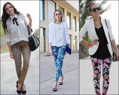 calca jeans estampada 2 490x393 Calça ESTAMPADA modelos e Como usar
