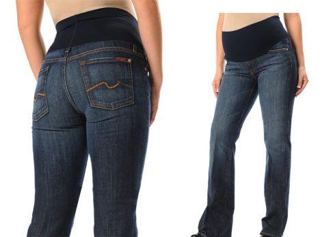 calca jeans para gestante 490x346 Calça para GESTANTE como escolher, como usar