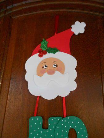 Enfeites de Natal em EVA como fazer e enfeitar a casa