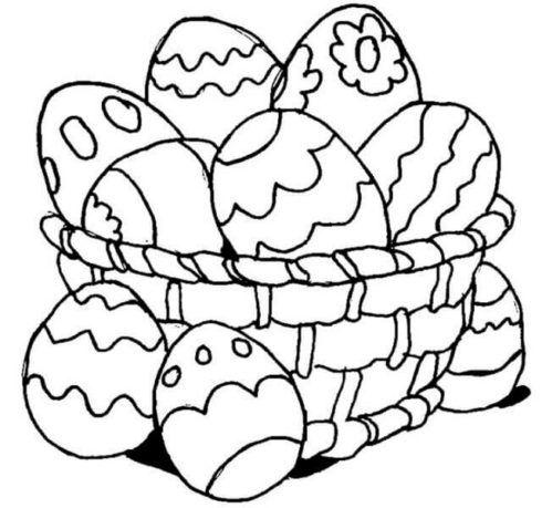 imagem 3 490x459 Desenhos da PÁSCOA para colorir (Máscara, ovos, Mensagens)