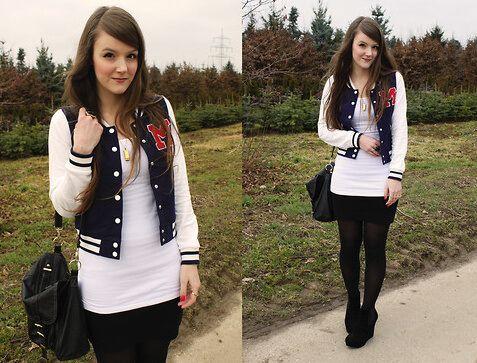 Como usar JAQUETA COLLEGE moda jovem (Veja com o que combina) - Wiki ... 950c085eb5a36