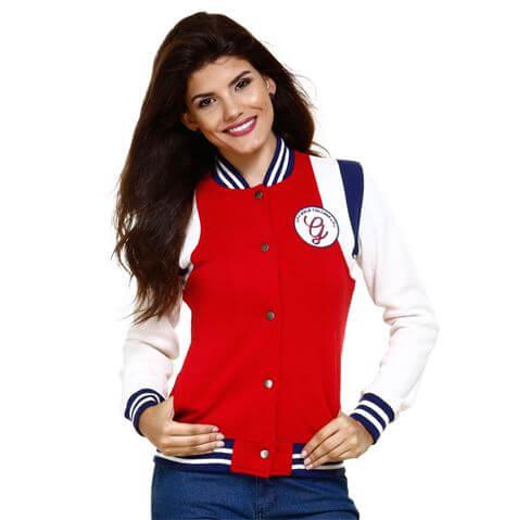 jaqueta college feminina Como usar JAQUETA COLLEGE moda jovem (Veja com o que combina)