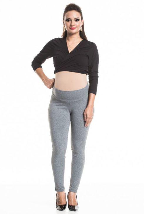 legging para gravida 490x729 Calça para GESTANTE como escolher, como usar