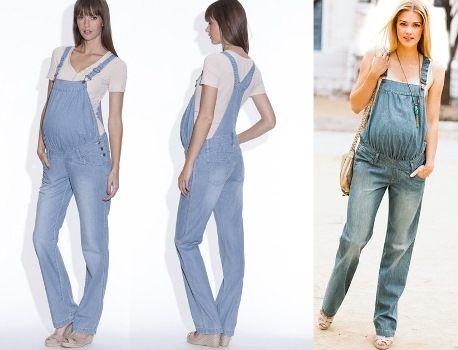 macacao jeans para gestante 3 Macacão para GESTANTE DA moda conheça modelos
