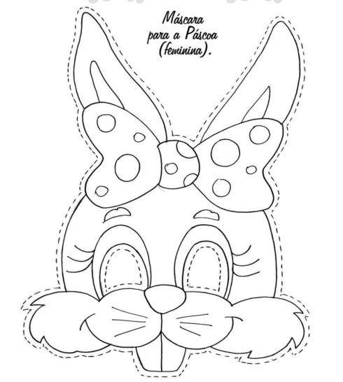 desenhos da pÁscoa para colorir máscara ovos mensagens wiki mulher
