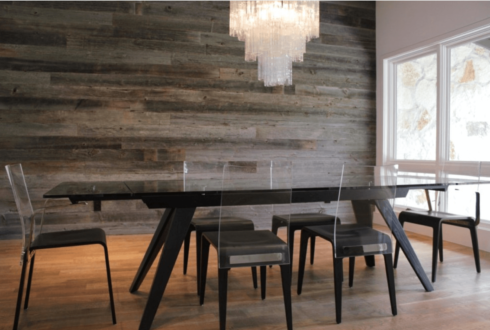 parede de madeira rustica 1 490x330 PAREDE DE MADEIRA, revestimento bonito que dá certo