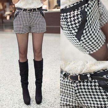 shorts xadrez preto e branco Como usar estampa XADREZ conheça os looks