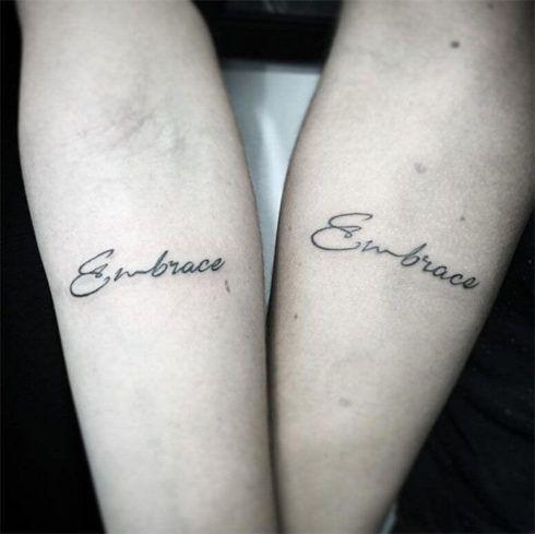 Tatuagem De Casal Ideias De Desenhos E Partes Do Corpo Wiki Mulher