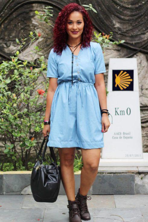 vestido com botinhas social curto 490x735 Modelos VESTIDO SOCIAL CURTO como usar