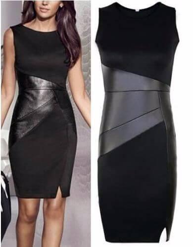 vestido social curto tubinho preto Modelos VESTIDO SOCIAL CURTO como usar
