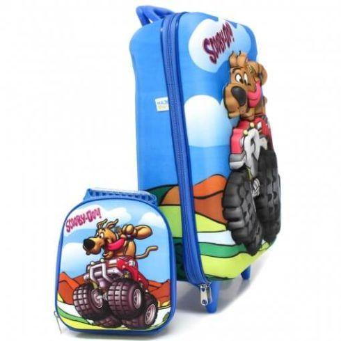 mochila e lancheira scoobdoo 490x490 Mochila infantil com Lancheira (Para meninos e Meninas)