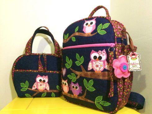 mochila lancheira termica mochila para escolinha 490x368 Mochila infantil com Lancheira (Para meninos e Meninas)