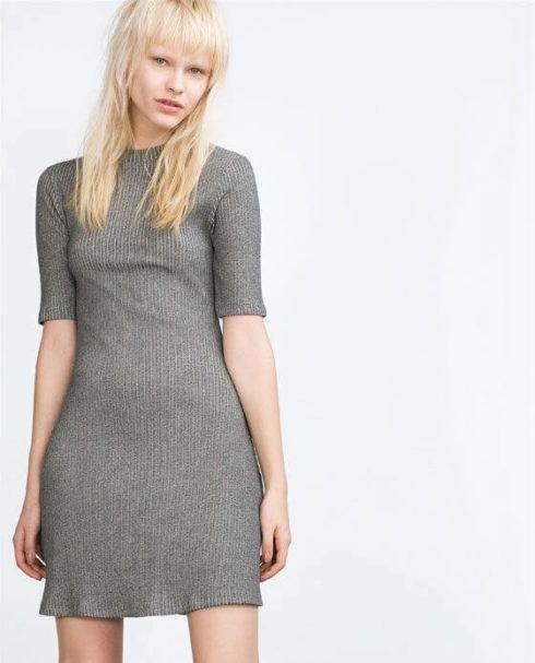 vestidos de malha canelada 1 490x607 VESTIDOS DE MALHA modelos para usar no verão (Curtos e Longos)