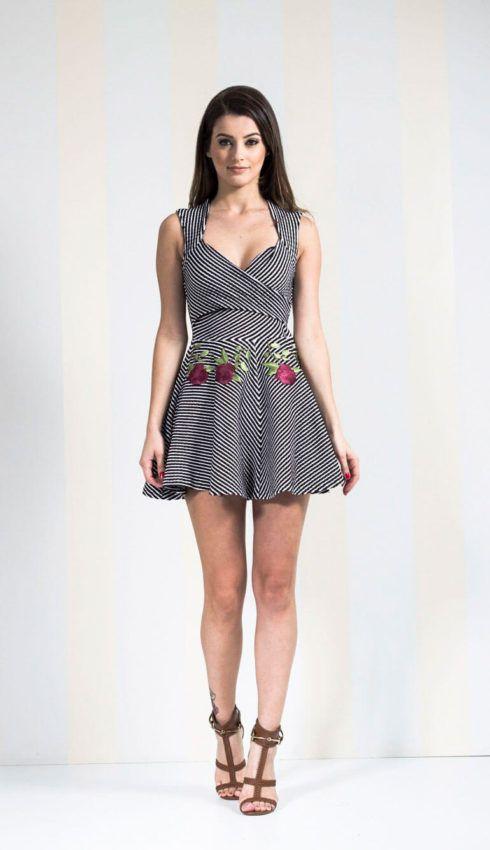 vestidos de malha curtos 490x850 VESTIDOS DE MALHA modelos para usar no verão (Curtos e Longos)
