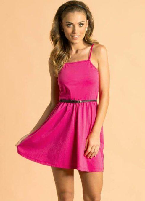 vestidos de malha de alcinha 3 490x678 VESTIDOS DE MALHA modelos para usar no verão (Curtos e Longos)