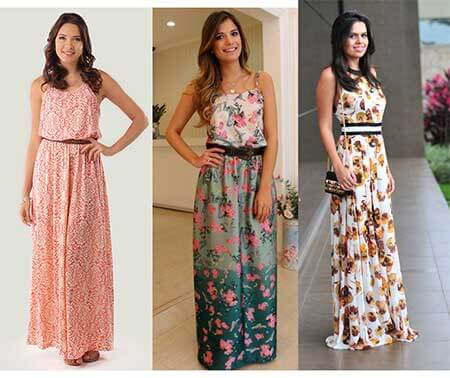 vestidos de malha longo 1 VESTIDOS DE MALHA modelos para usar no verão (Curtos e Longos)