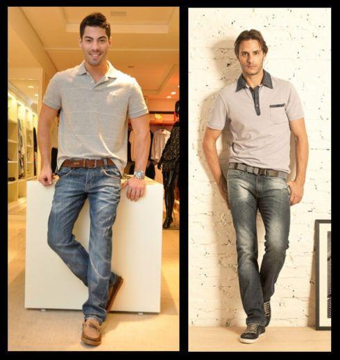 camiseta polo com calca 1 490x519 Camiseta Polo Masculina (Estilos com calça, e bermuda)