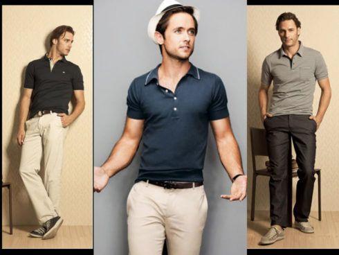 camiseta polo com calca 2 490x368 Camiseta Polo Masculina (Estilos com calça, e bermuda)