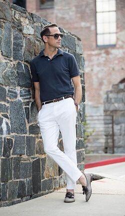 imagem 10 Camiseta Polo Masculina (Estilos com calça, e bermuda)