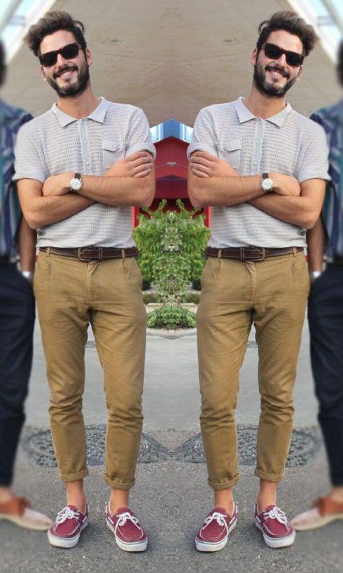 imagem 12 3 490x817 Camiseta Polo Masculina (Estilos com calça, e bermuda)