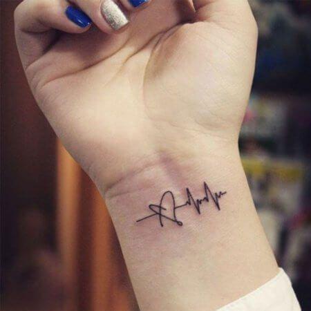imagem 5 3 Tatuagens Delicadas (desenhos e áreas do corpo a tatuar)