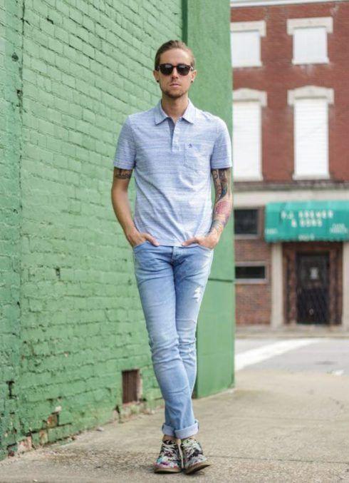 imagem 6 8 490x677 Camiseta Polo Masculina (Estilos com calça, e bermuda)