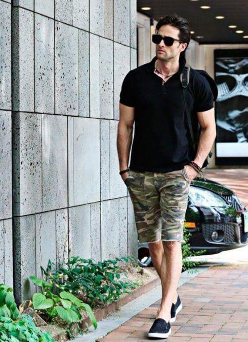 imagem 6 9 490x674 Camiseta Polo Masculina (Estilos com calça, e bermuda)