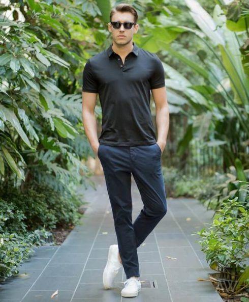 imagem 7 490x593 Camiseta Polo Masculina (Estilos com calça, e bermuda)