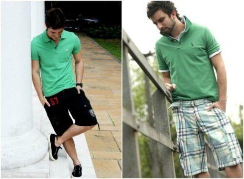 imagem 7 7 490x360 Camiseta Polo Masculina (Estilos com calça, e bermuda)