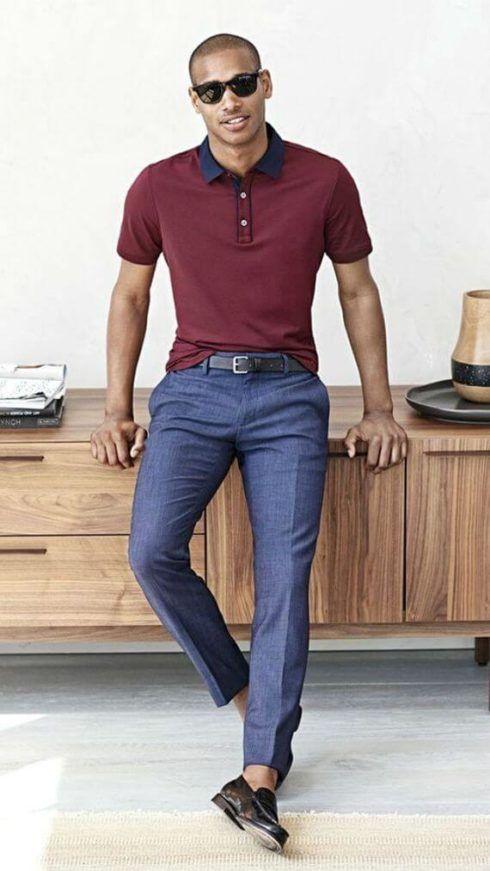 imagem 8 2 490x871 Camiseta Polo Masculina (Estilos com calça, e bermuda)