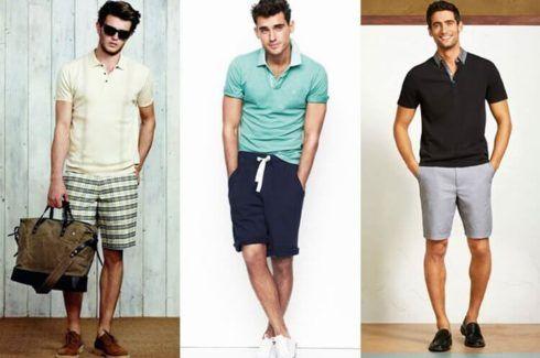 imagem 8 3 490x325 Camiseta Polo Masculina (Estilos com calça, e bermuda)