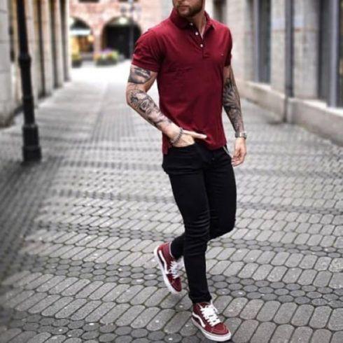 imagem 9 490x490 Camiseta Polo Masculina (Estilos com calça, e bermuda)