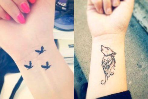 tatuagem delicada no pulso 4 490x327 Tatuagens Delicadas (desenhos e áreas do corpo a tatuar)