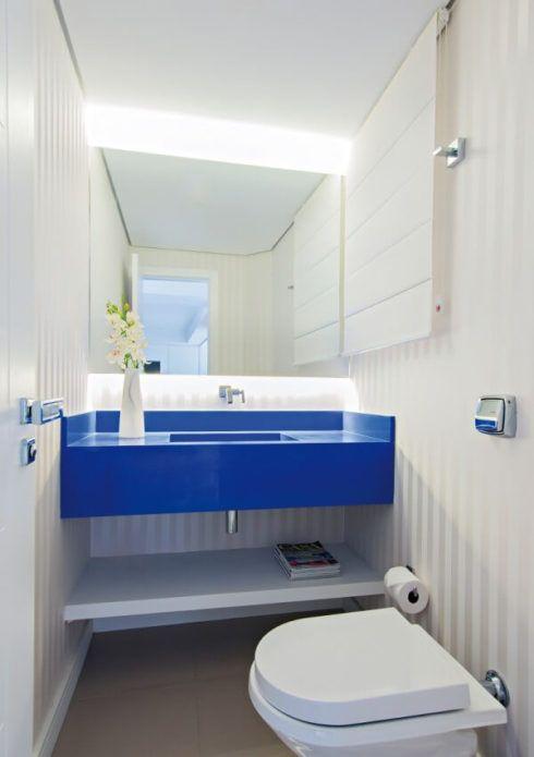 banheiros decorados com azul 5 490x695 Ambientes decorados com Azul (Sala, Cozinha, banheiro, Quarto)